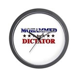 MOHAMMED for dictator Wall Clock