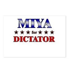 MIYA for dictator Postcards (Package of 8)