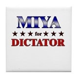MIYA for dictator Tile Coaster