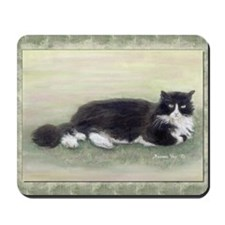 Julio the Cat Mousepad