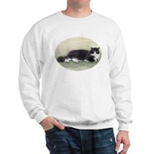Julio the Cat Sweatshirt Ash Grey