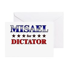 MISAEL for dictator Greeting Cards (Pk of 20)