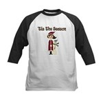 Tis the Season Kids Baseball Jersey