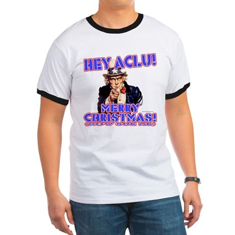 Merry Christmas ACLU Ringer T