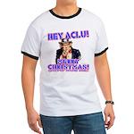 Merry Christmas ACLU Ringer T
