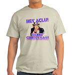 Merry Christmas ACLU Light T-Shirt
