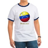 Venezuelan Flag Soccer Ball T