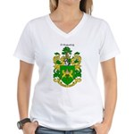 Reilly Coat of Arms Women's V-Neck T-Shirt