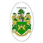 Reilly Coat of Arms Oval Sticker