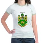 Reilly Coat of Arms Jr. Ringer T-Shirt