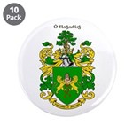 "Reilly Coat of Arms 3.5"" Button (10 pack)"