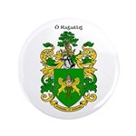 "Reilly Coat of Arms 3.5"" Button"