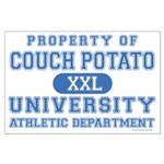 Couch Potato University Large Poster