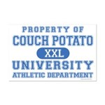 Couch Potato University Mini Poster Print