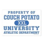 Couch Potato University Postcards (Package of 8)