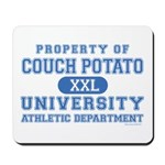 Couch Potato University Mousepad