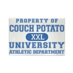 Couch Potato University Rectangle Magnet (10 pack)