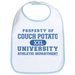 Couch Potato University Bib
