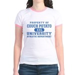 Couch Potato University Jr. Ringer T-Shirt