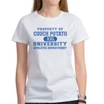 Couch Potato University Women's T-Shirt