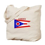 Ohio State Flag Tote Bag