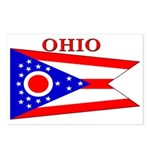 Ohio State Flag Postcards (Package of 8)