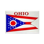 Ohio State Flag Rectangle Magnet (100 pack)
