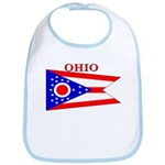 Ohio State Flag Bib