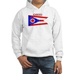 Ohio State Flag Hooded Sweatshirt