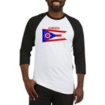 Ohio State Flag Baseball Jersey