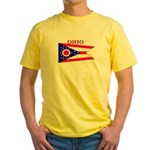Ohio State Flag Yellow T-Shirt