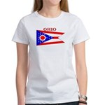 Ohio State Flag Women's T-Shirt