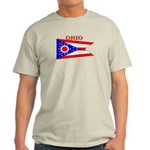 Ohio State Flag Light T-Shirt