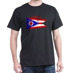 Ohio State Flag Dark T-Shirt