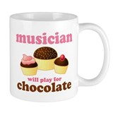 Musician Chocolate Coffee Mug