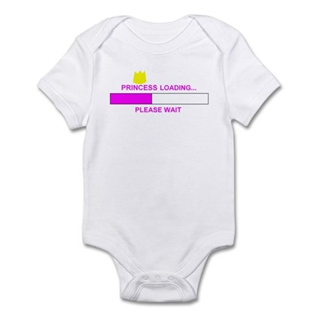 PRINCESS LOADING... Infant Bodysuit