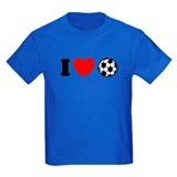 I Love Soccer  T