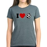 I Love Soccer Tee