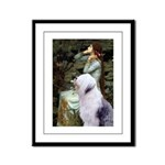 Ophelia / OES Framed Panel Print