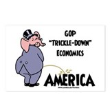 Trickle Down 2c Postcards (Package of 8)