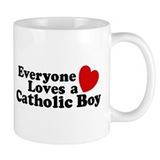 Everyone Loves a Catholic Gir Mug