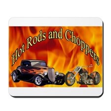 Hot Rods and Choppers Mousepad