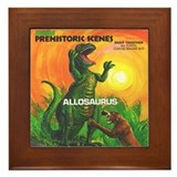 PS ALLOSAURUS Framed Tile