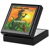 PS ALLOSAURUS Keepsake Box