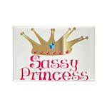 Sassy Princess Rectangle Magnet (10 pack)