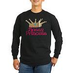 Sassy Princess Long Sleeve Dark T-Shirt