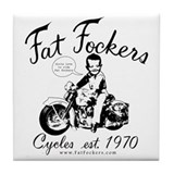 Fat Fockers Tile Coaster