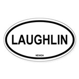 Laughlin Oval Decal