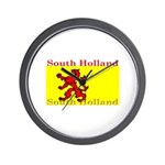 South Holland Flag Wall Clock