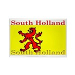 South Holland Flag Rectangle Magnet (100 pack)